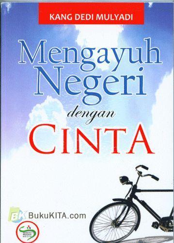 Cover Buku Mengayuh Negeri dengan Cinta