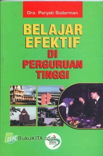 Cover Buku Belajar Efektif di Perguruan Tinggi