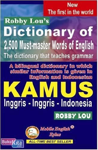 Cover Buku Robby Lou