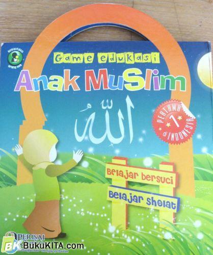 Cover Buku Games Edukasi Anak Muslim : Belajar Bersuci & Belajar Sholat
