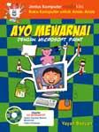 Cover Buku Ayo Mewarnai dengan Microsoft Paint