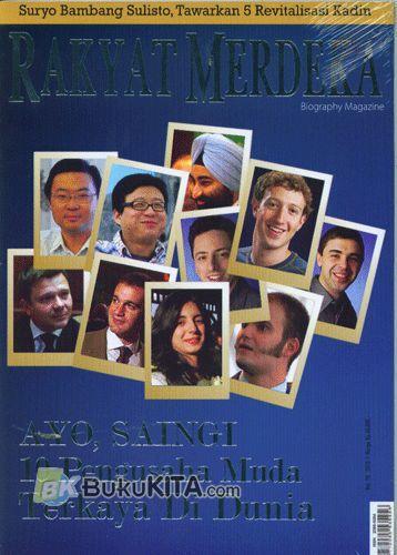 Cover Belakang Buku Majalah Rakyat Merdeka Inspiring Achievement Vol. 10