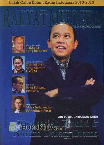 Cover Buku Majalah Rakyat Merdeka Inspiring Achievement Vol. 10