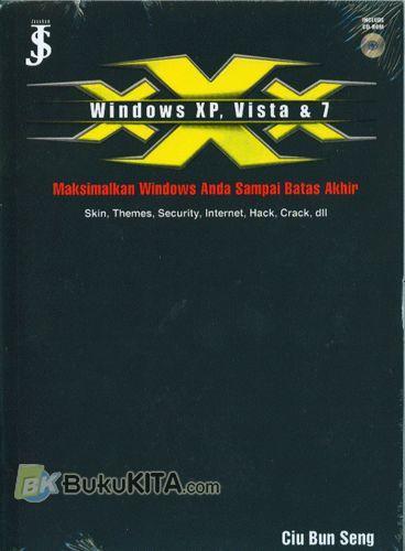 Cover Buku Windows Xp, Vista & 7 : Maksimalkan Windows Anda Sampai Batas Akhir
