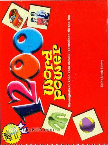 Cover Buku 1200 Word Power : Meningkatkan Kosa Kata Melalui Permainan Tic Tac Toc