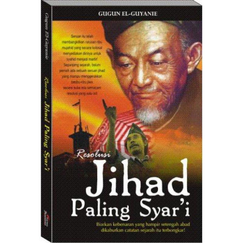 Cover Buku Resolusi Jihad Paling SYARI