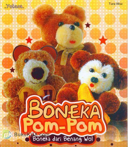 Cover Buku Boneka Pom-Pom : Boneka dari Benang Wol
