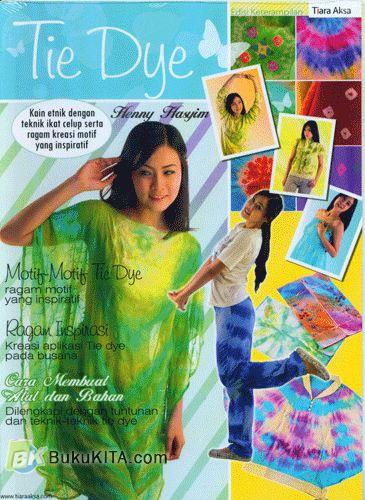 Cover Buku Tie Dye