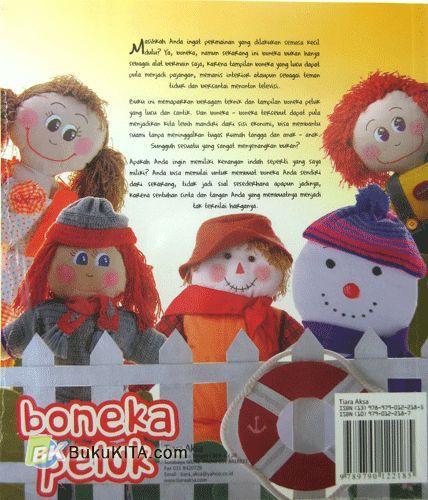 Cover Belakang Buku Boneka Peluk