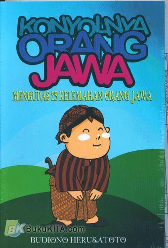 Cover Buku Konyolnya Orang Jawa