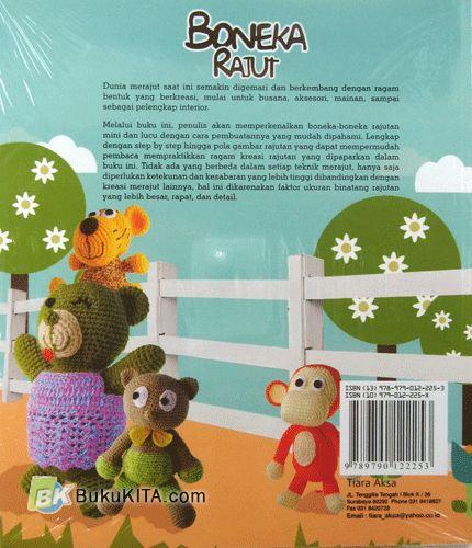 Cover Belakang Buku Boneka Rajut