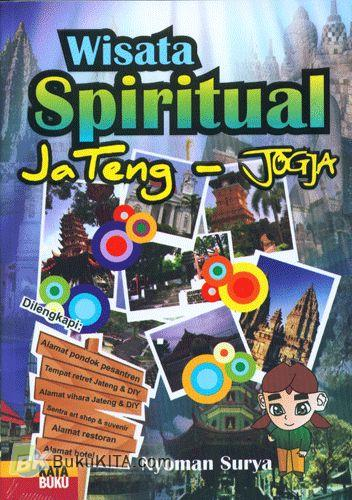 Cover Buku Wisata Spiritual Jateng-Jogja