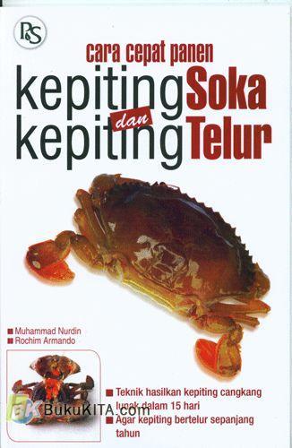 Cover Buku Cara Cepat Panen Kepiting Soka Dan Kepiting Telur