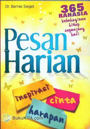 Cover Buku Pesan Harian Inspirasi Cinta Harapan