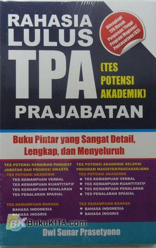 Cover Buku Rahasia Lulus TPA Prajabatan