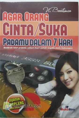 Cover Buku Agar Orang Cinta/Suka Padamu Dalam 7 Hari