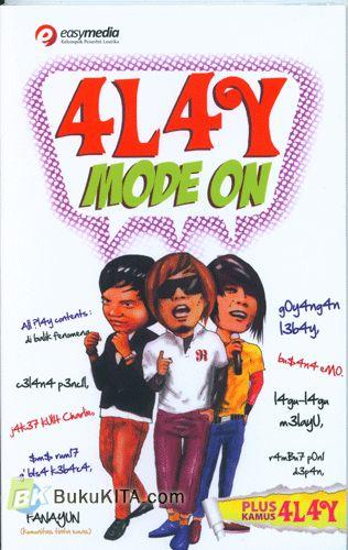 Cover Buku 4L4y Mode On