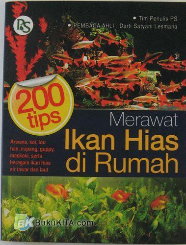 Cover Buku 200 Tips Merawat Ikan Hias di Rumah