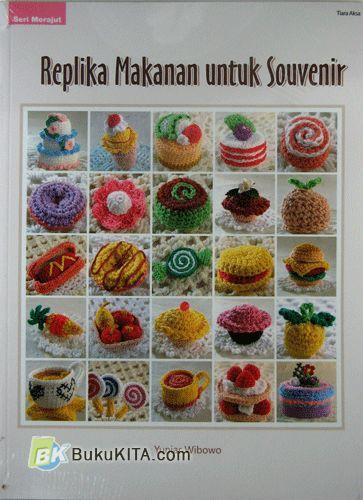 Cover Buku Replika Makanan Untuk Souvenir