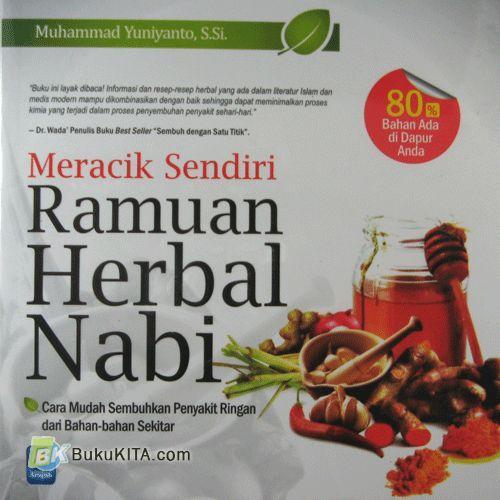 Cover Buku Meracik Sendiri Ramuan Herbal Nabi