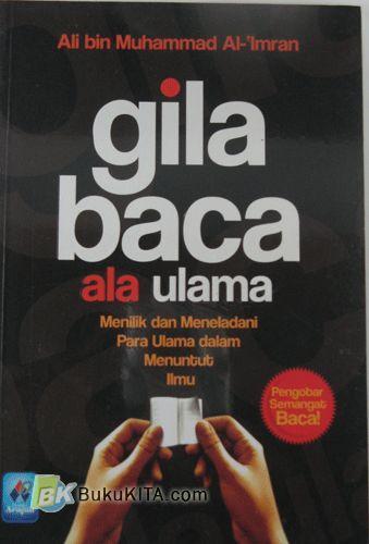 Cover Buku Gila Baca ala Ulama