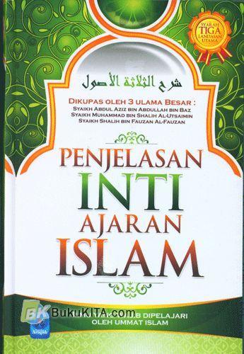 Cover Buku Penjelasan Inti Ajaran Islam