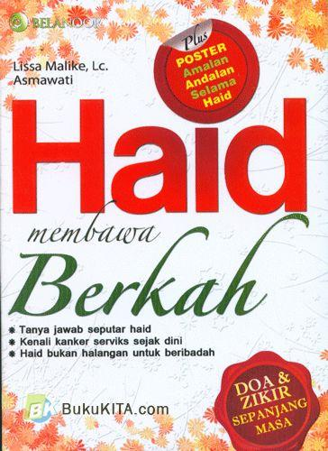 Cover Buku Haid Membawa Berkah