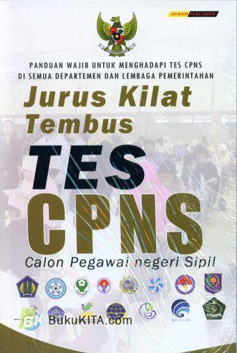 Cover Buku Jurus Kilat Tembus Tes CPNS
