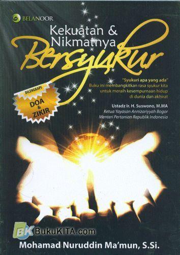 Cover Buku Kekuatan & Nikmatnya Bersyukur