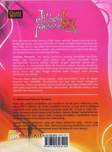 Cover Belakang Buku Jilbabku Pesonaku