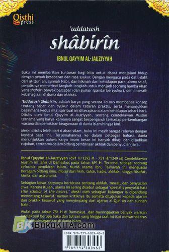 Cover Belakang Buku Uddatush Shabirin : Bekal untuk Orang-orang yang Sabar