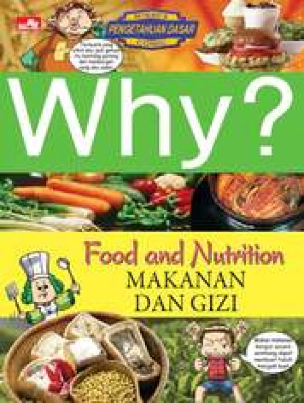 Cover Buku Why? Food & Nutrition