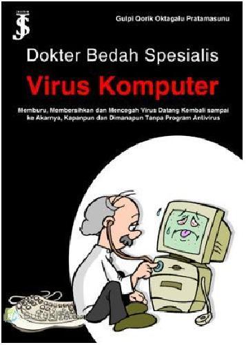 Cover Buku Dokter Bedah Spesialis Virus Komputer