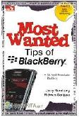 Cover Buku Most Wanted Tips of Blackberry