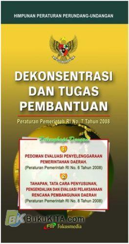 Cover Buku Dekonsentrasi dan Tugas Pembantuan