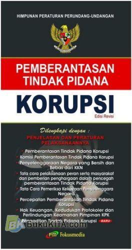 Cover Buku Pemberantasan Tindak Pidana Korupsi