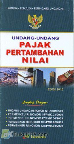 Cover Buku Undang-Undang Pajak Pertambahan Nilai bk