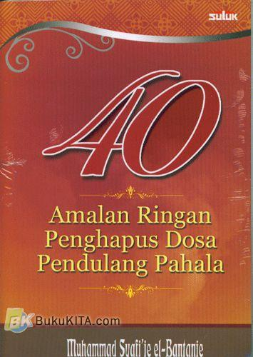 Cover Buku 40 Amalan Ringan Penghapus Dosa