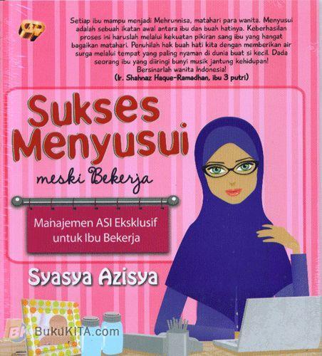 Cover Buku Sukses Menyusui Meski Bekerja
