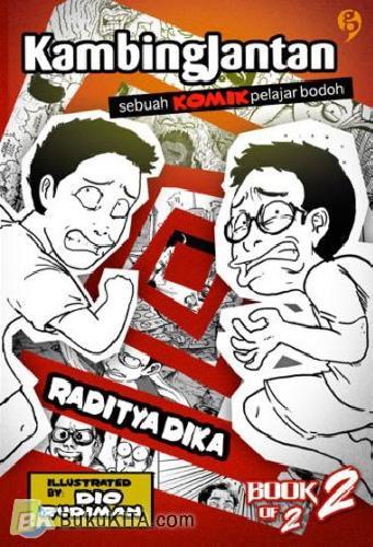 Cover Buku Kambing Jantan: Sebuah Komik Pelajar Bodoh #2 (Disc 50%)