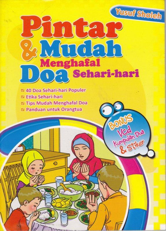 Cover Buku Pintar & Mudah Menghafal Doa Sehari-hari