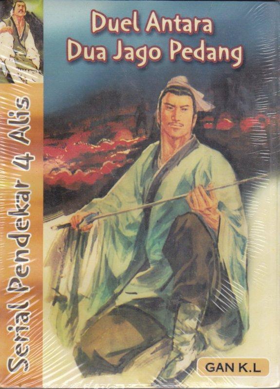 Cover Buku Pendekar 4 Alis #3: Duel Antara Dua Jago Pedang