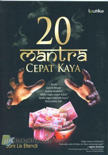 Cover Buku 20 Mantra Cepat Kaya