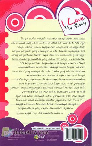 Cover Belakang Buku I Love My Body