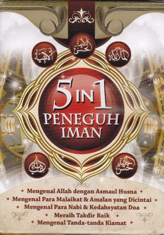 Cover Belakang Buku 5 in 1 Peneguh Iman (Disc 50%)
