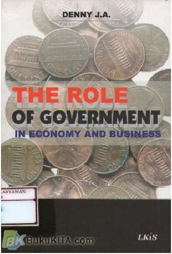 Cover Buku The Role Of Government In Economy & Politics