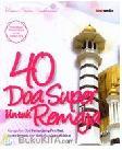 40 Doa Super Untuk Remaja