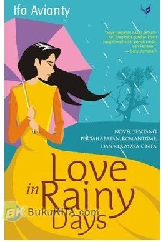 Cover Buku Love In Rainy Days