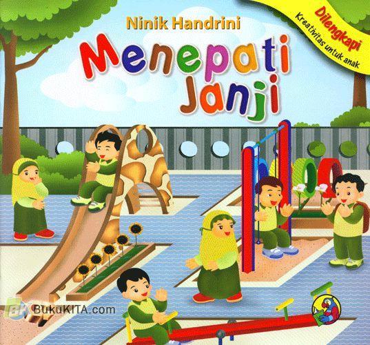 Cover Buku Menepati Janji