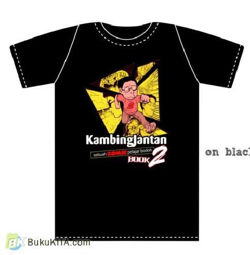 Cover Buku Kaos Komik Kambing Jantan #2 (All Size)